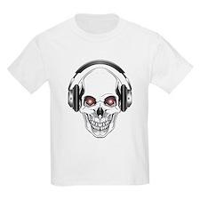 Red Eye DJ Skull T-Shirt