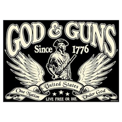 God & Guns Poster