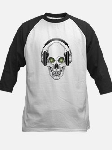 Green Eye DJ Skull Tee