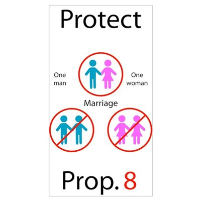 Protect Prop. 8 Framed Print