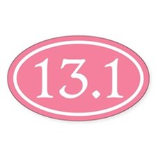 13.1 Pink Half Marathon Decal