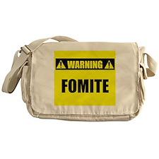 WARNING: Fomite Messenger Bag