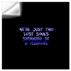 Two Lost Souls Swimming in a Wall Decal