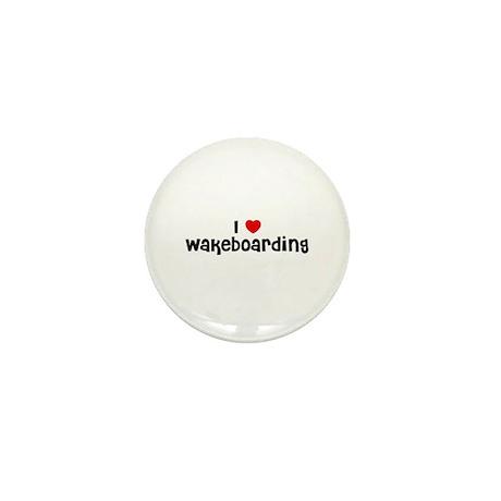 I * Wakeboarding Mini Button