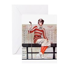 Women's Golf Greeting Cards (Pk of 10)