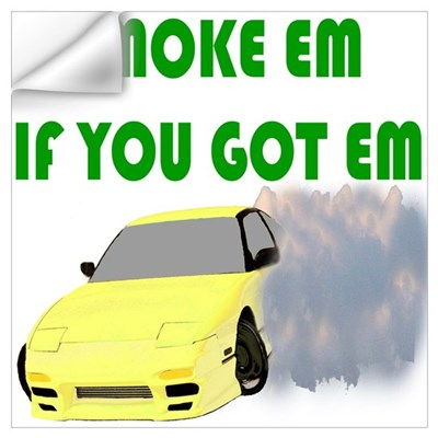 Smoke em Wall Decal
