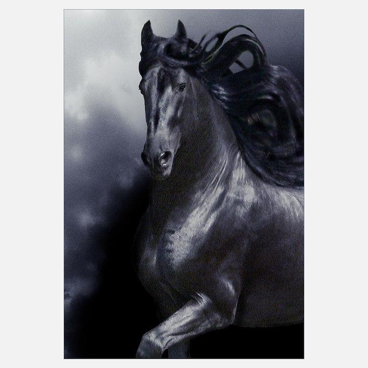 Cute Horse lover art Wall Art