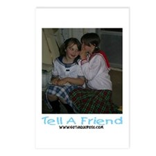 Tell A Friend Postcards (Package of 8)