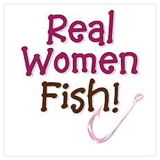 Real Women Fish Poster