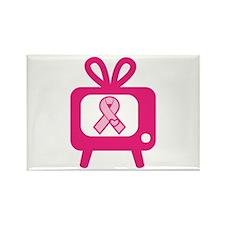 BreastCancerAwareness Rectangle Magnet