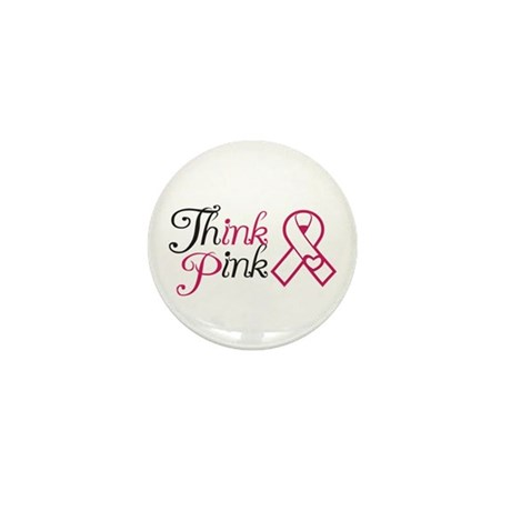 ThinkPink Mini Button (10 pack)