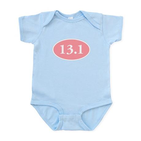 13.1 Pink Oval Infant Bodysuit