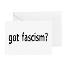 got fascism? Greeting Cards (Pk of 10)