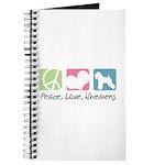 Peace, Love, Wheatens Journal