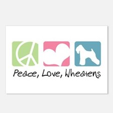 Peace, Love, Wheatens Postcards (Package of 8)