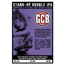 Stand-Up Double IPA (11x17) Framed Print