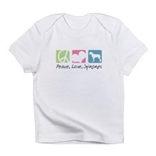 Peace, Love, Spinones Infant T-Shirt