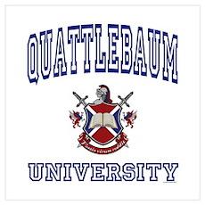 QUATTLEBAUM University Poster