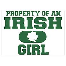 Property of an Irish Girl Poster