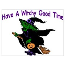 Witchy Time Framed Print