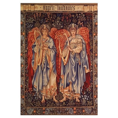 Burne-Jones Angeli Laudantes Framed Print