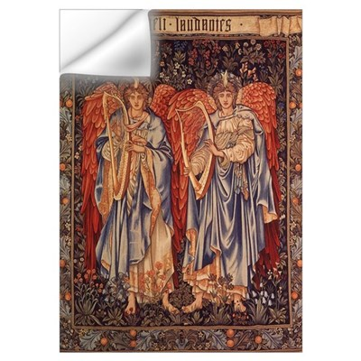 Burne-Jones Angeli Laudantes Wall Decal