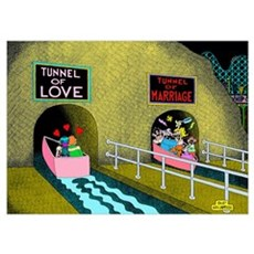 Tunnel of Love/Tunnel of Marriage Poster