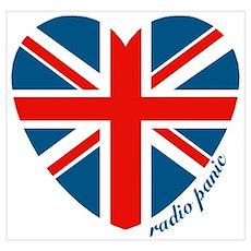 Radiopanic.com Heart Poster