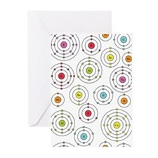 Periodic Shells Greeting Cards (Pk of 10)
