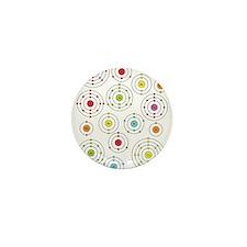 Periodic Shells Mini Button