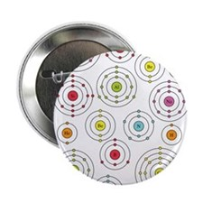 """Periodic Shells 2.25"""" Button (10 pack)"""