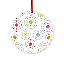 Periodic Shells Ornament (Round)