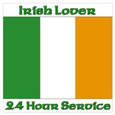 Irish Lover 24 Hour Service Poster