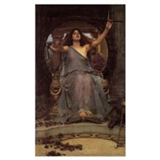 Circe Offering the Cup to Ody Poster