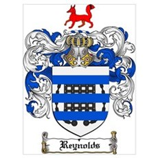 Reynolds Coat of Arms Poster