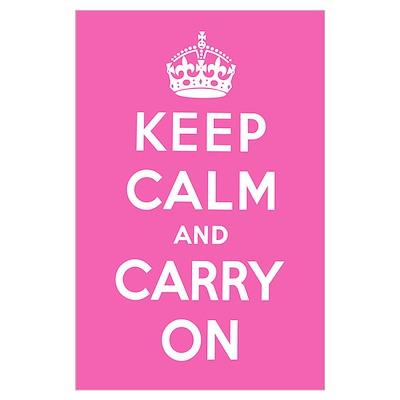 Magenta Pink Poster