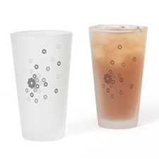 Gears Drinking Glass
