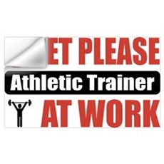 Athletic Trainer Work Wall Decal