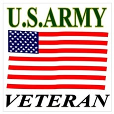 US ARMY VETERAN Poster