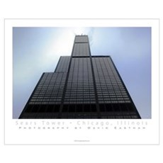 Sears Tower Full Color Print Poster