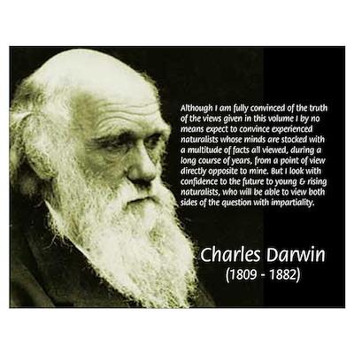 Charles Darwin: Science Poster