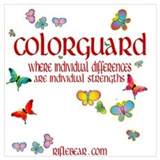 Colorguard Differences Poster