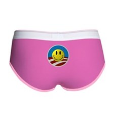 Obama Smiley Logo Women's Boy Brief