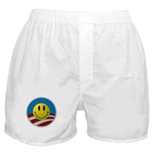 Obama Smiley Logo Boxer Shorts