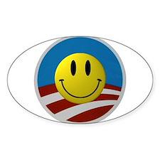 Obama Smiley Logo Decal
