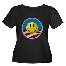 Obama Smiley Logo T