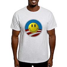 Obama Smiley Logo T-Shirt