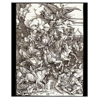 Durer - Four Horsemen 16x20 Poster