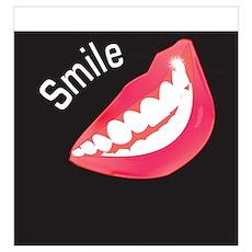 Smile Dental Themed Poster