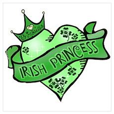 Irish Princess St. Patricks Day Poster